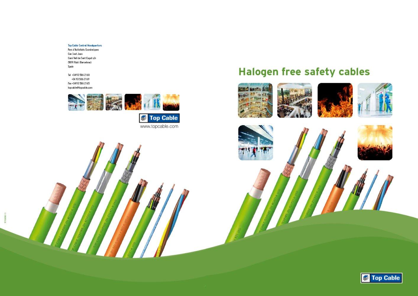 Cáp Halogen free
